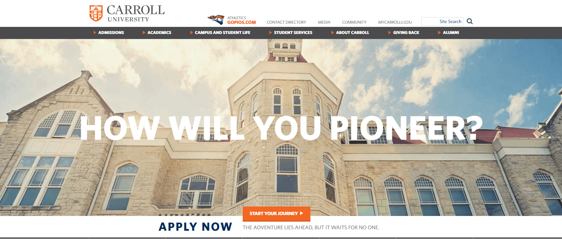 Carroll University website