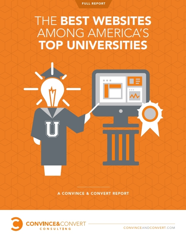 Convince & Convert top 25 universities report