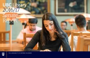 UBC Library 2016/17 Senate Report