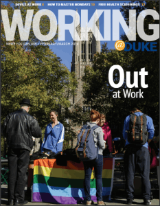 The February/March 2019 edition of Working@Duke magazine