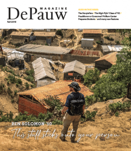 DePauw University magazine award winner